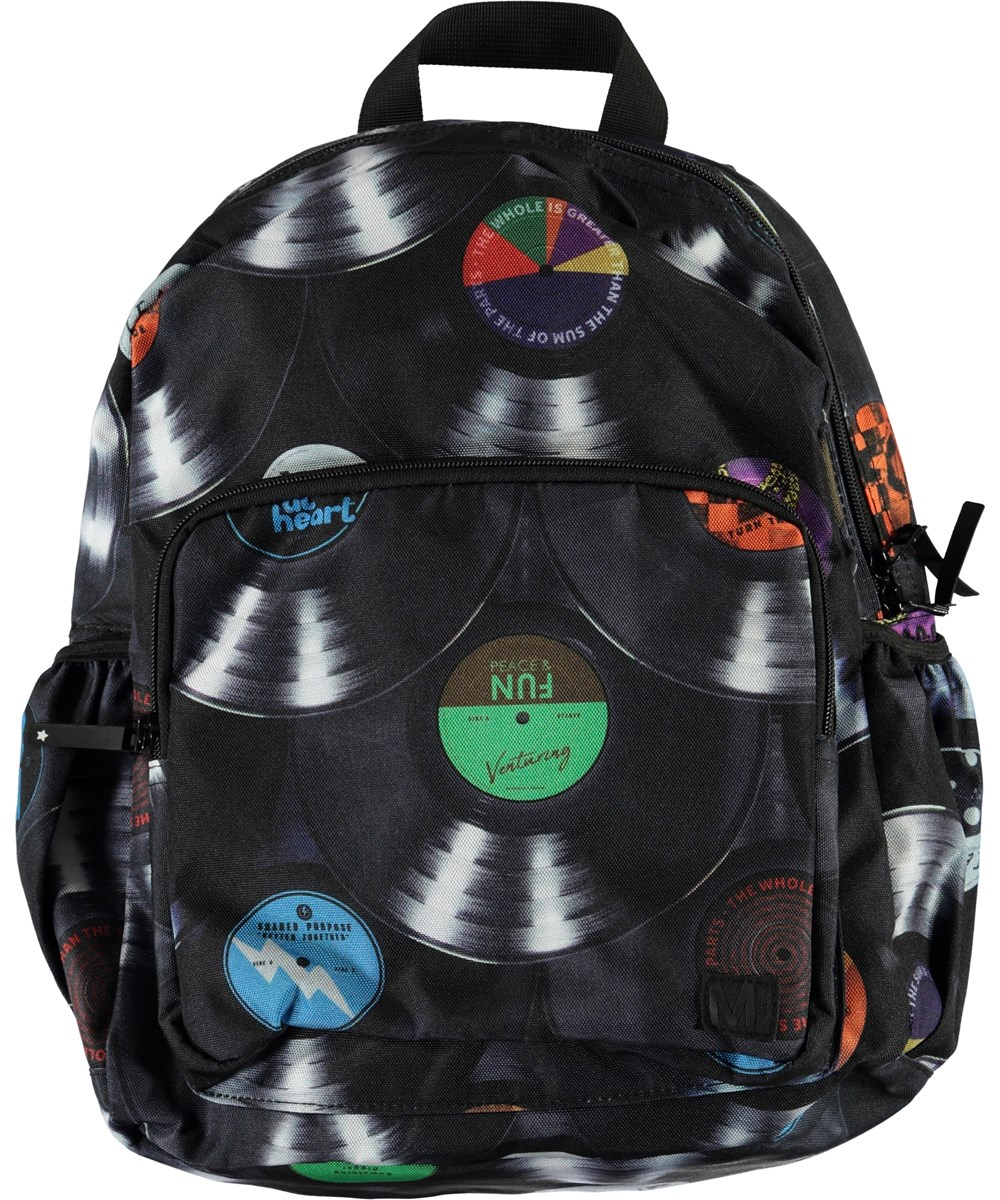 Big Backpack - Records - Music rucksack