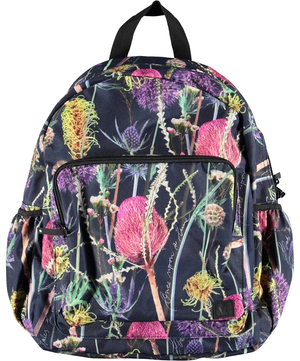 Big Backpack - Sleeping Beauty - Backpack with flowers.