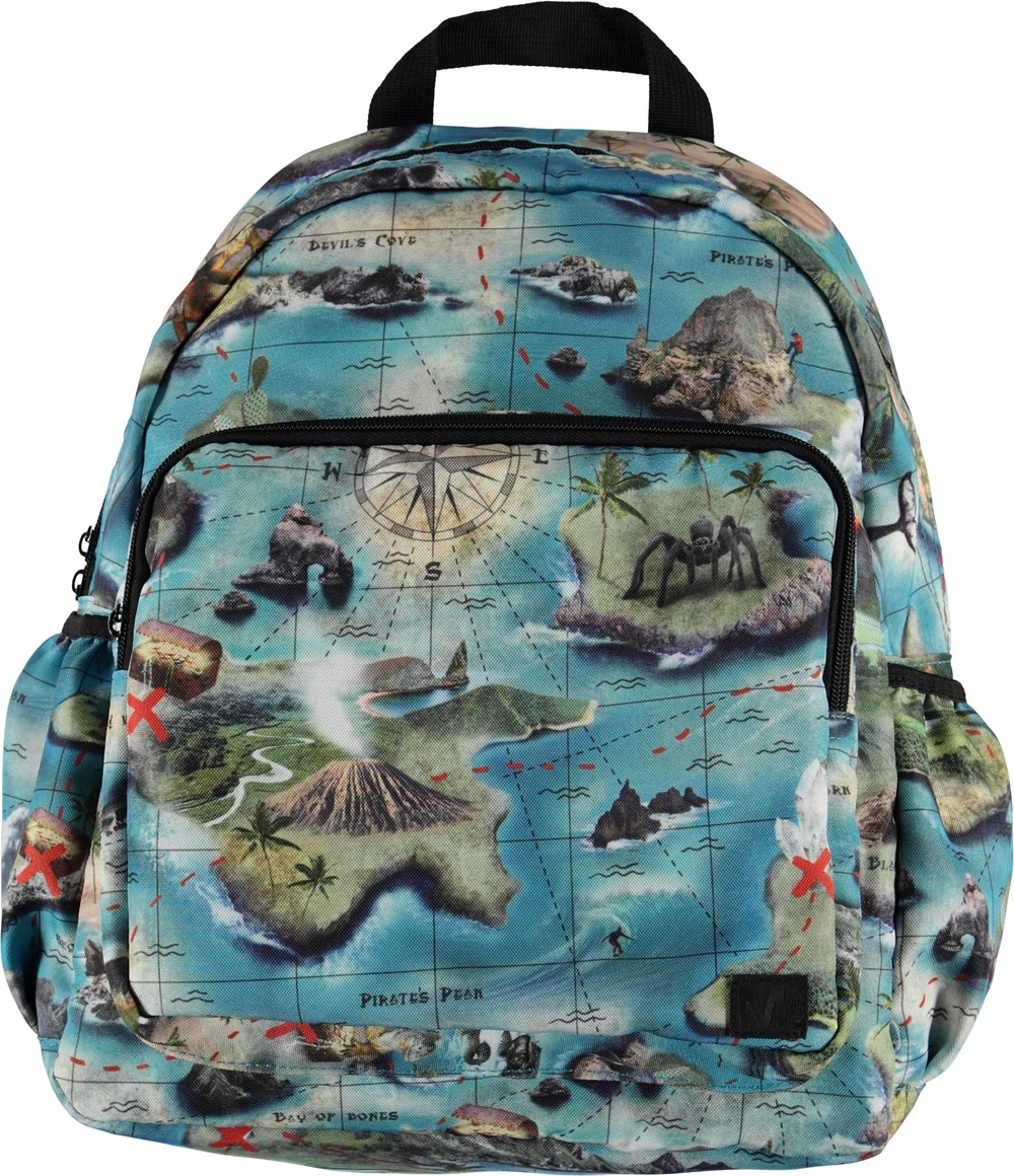 Big backpack - Treasure Map - Big Backpack - S