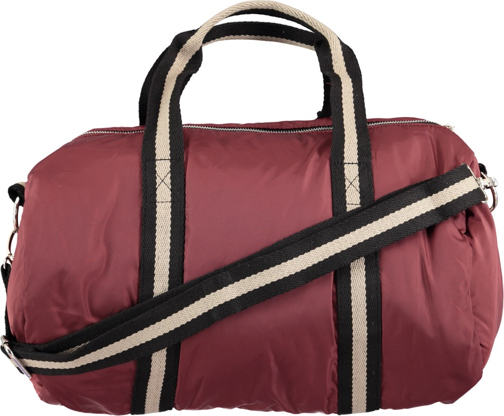 807db040ae Duffle bag - Forestberry - Bordeaux red weekend bag - Molo