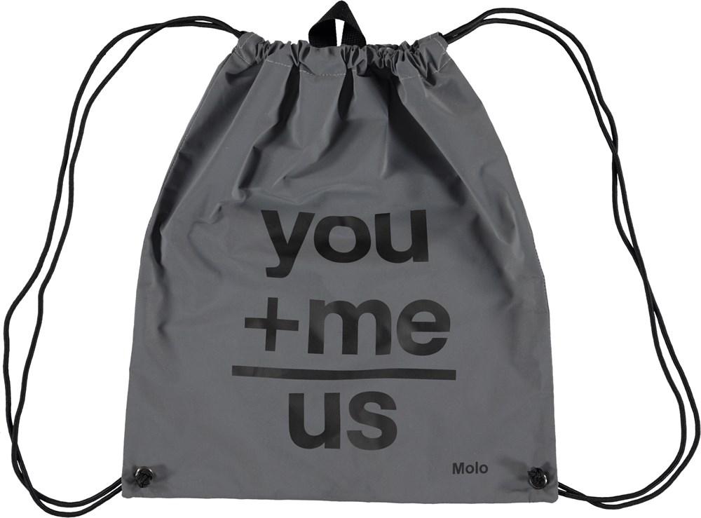 Gym bag - Reflective - Gym bag with reflectors.