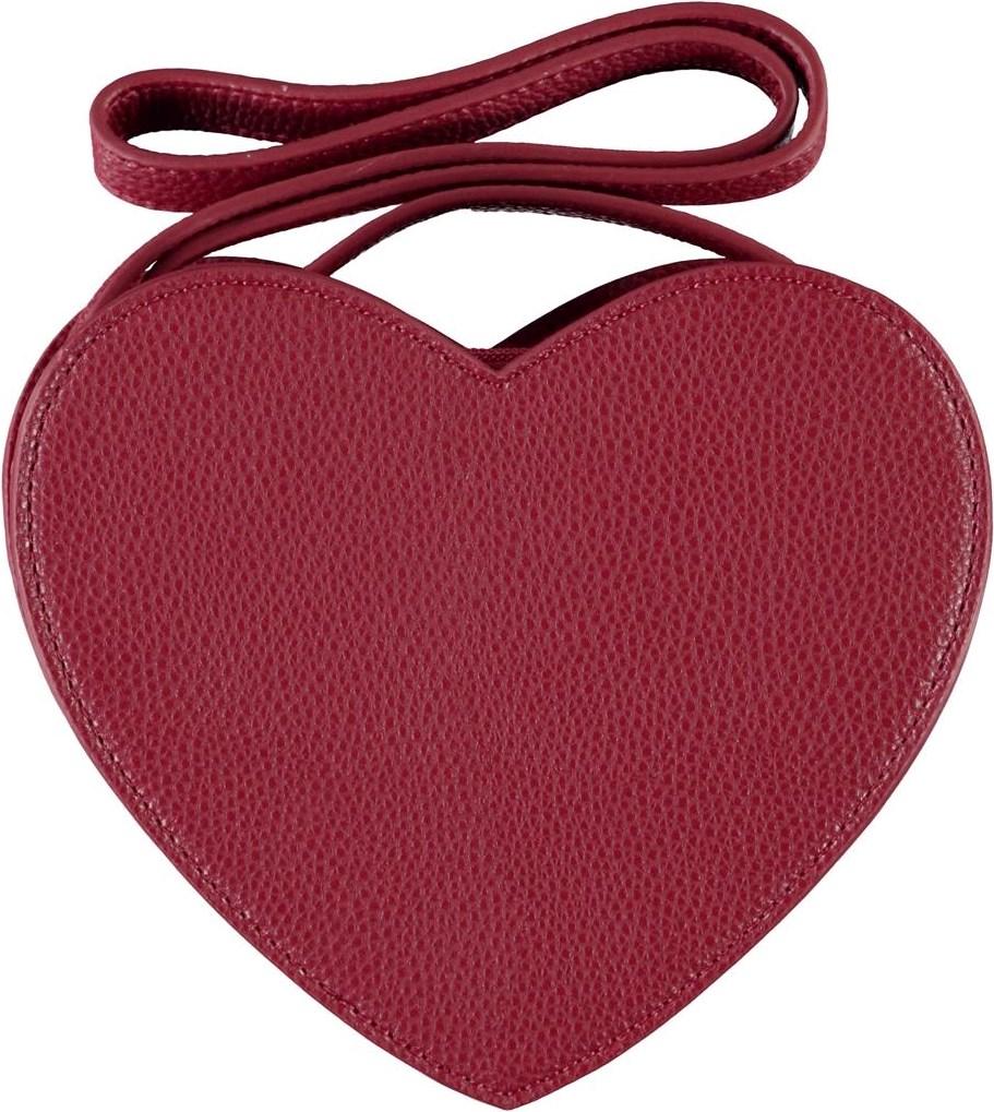 Heart bag - Bossa Nova - Red heart-shaped bag