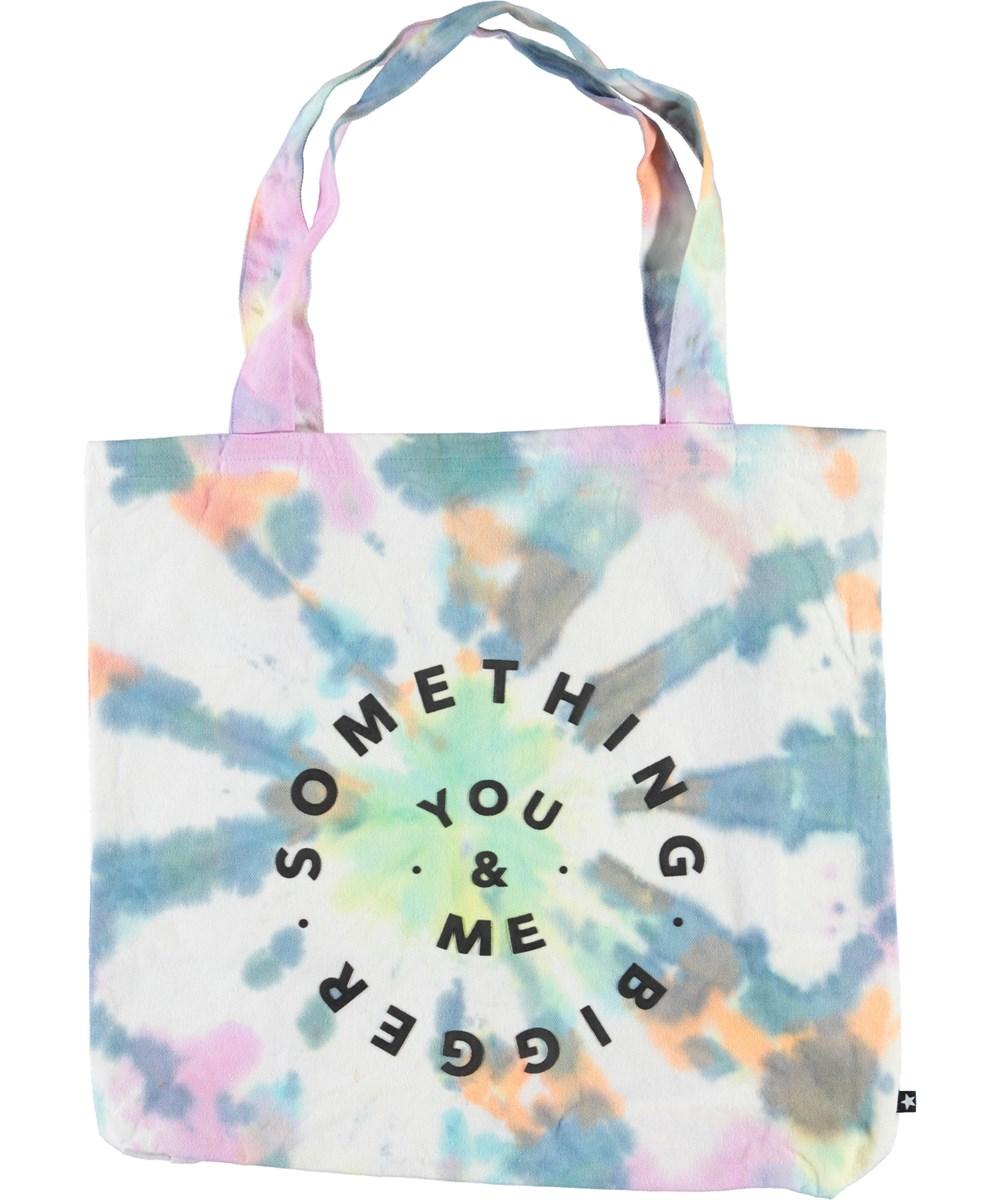 Tote Bag - Multi Tie Dye - Tie-dye totebag