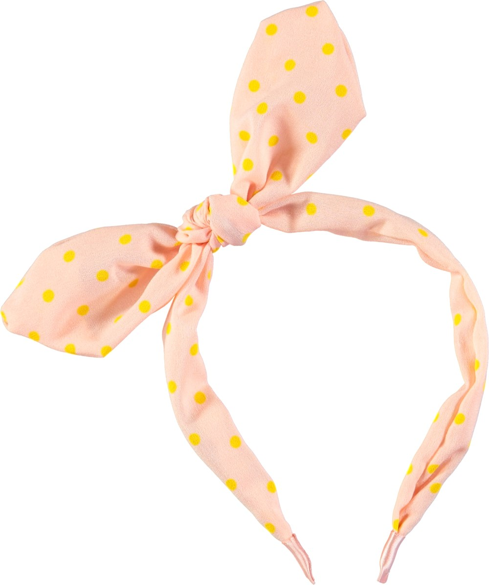 Minnie Hair Band - Dawn - Pudderfarvet minnie hårbånd med sløjfe