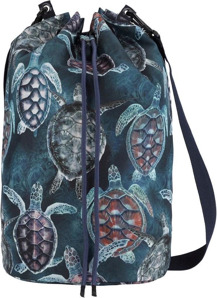 Nedo - Sea Turtles - Strandtaske med print af skildpadder