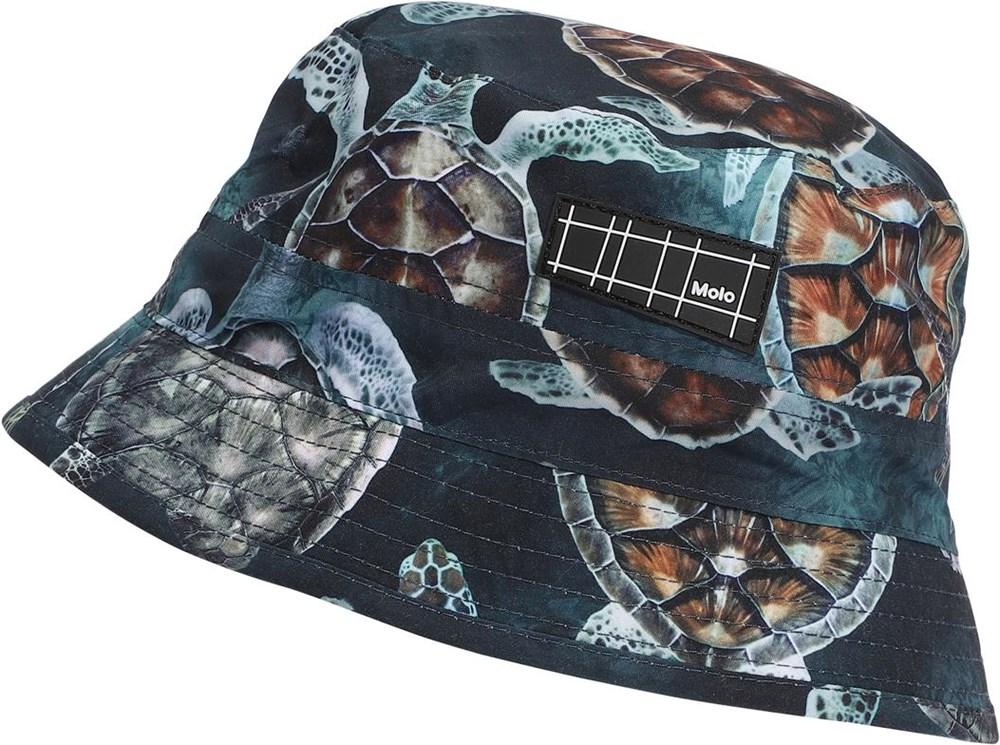 Niks - Sea Turtles - UV bøllehat med skildpadde print
