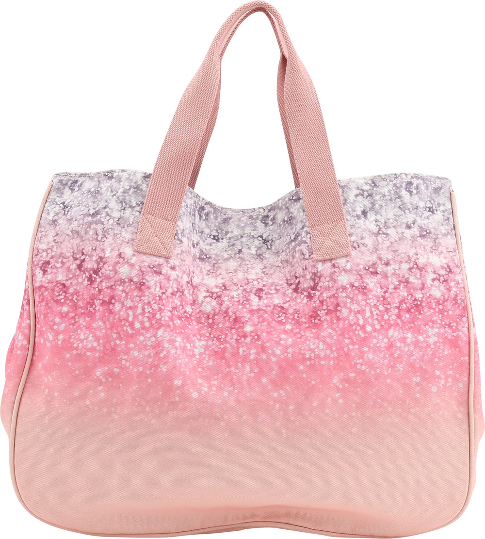 Beach Bag Glitter Large With Digital Print