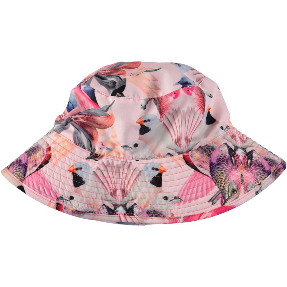 Nadia - Mirror Birds - Bucket hat with digital bird print