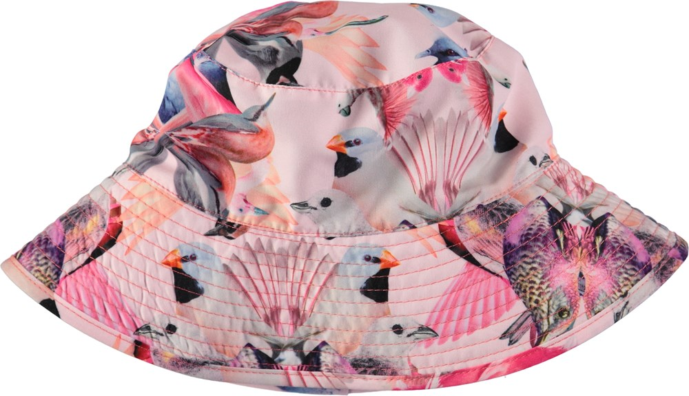 Nadia - Mirror Birds - Bucket hat with digital bird print