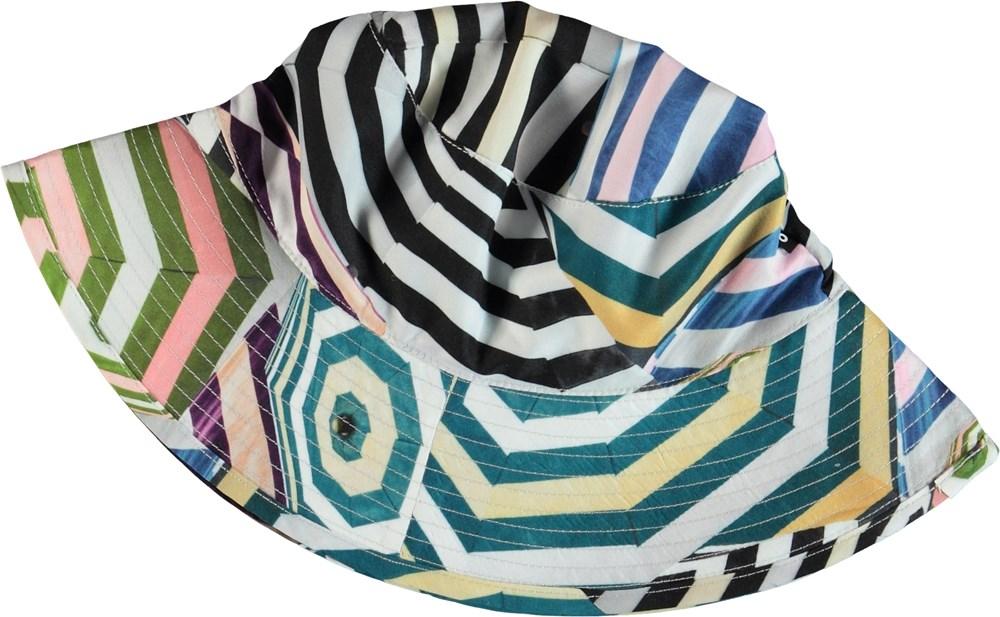 Nadia - Multi Parasol - Bucket hat with parasols
