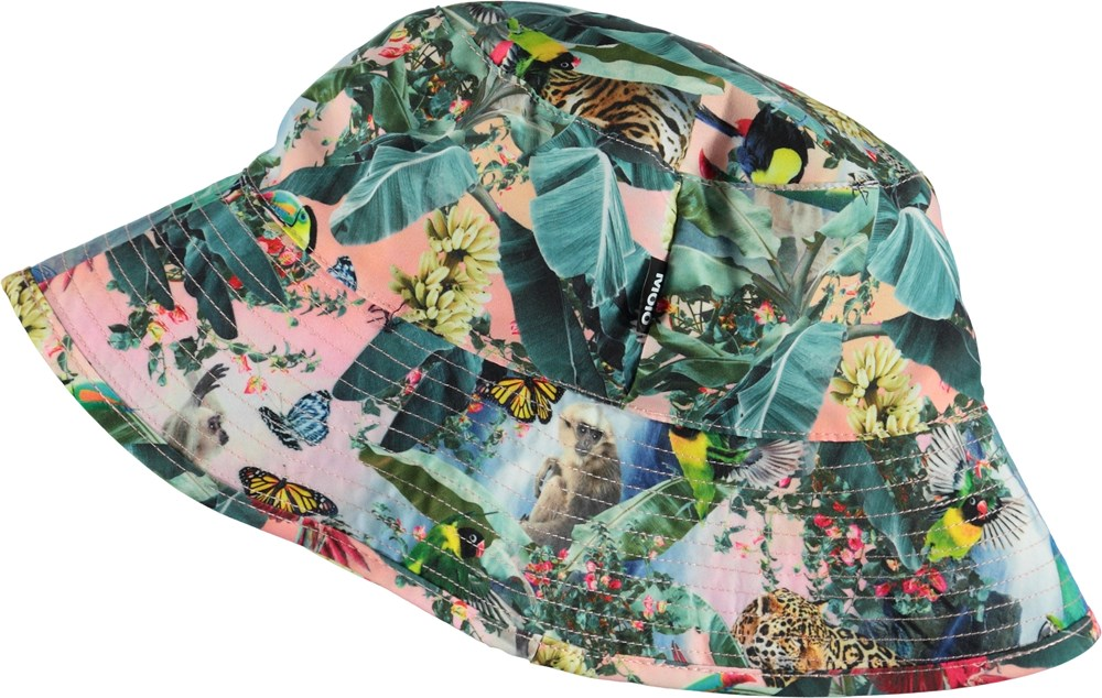 Nadia - Wild Amazon - Bucket hat with wild animals
