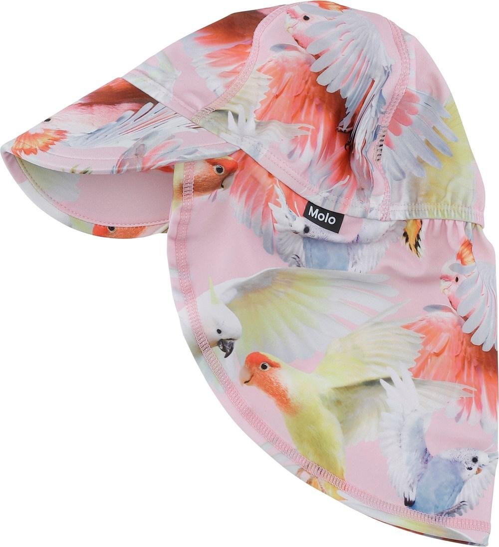 Nando - Cockatoos - Sunhat with parrot print