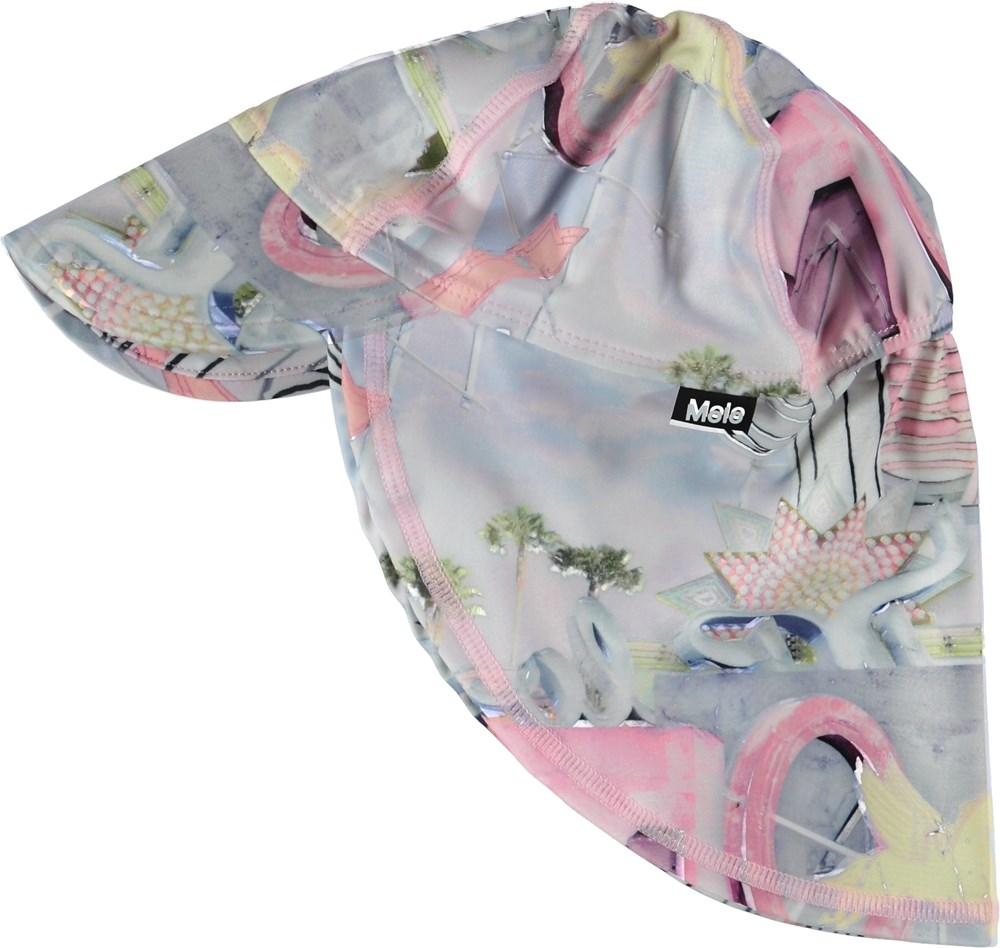 Nando - Signs - Sunhat with pastel coloured signs