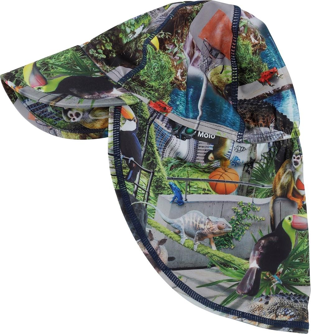 Nando - Urban Jungle - Sunhat with jungle print
