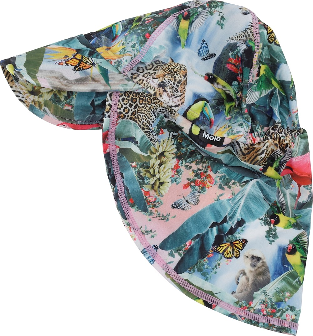 Nando - Wild Amazon - Sunhat with animal print