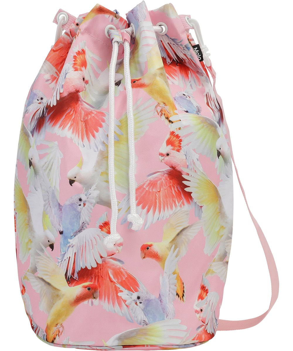 Nedo - Cockatoos - Beach bag with surf print