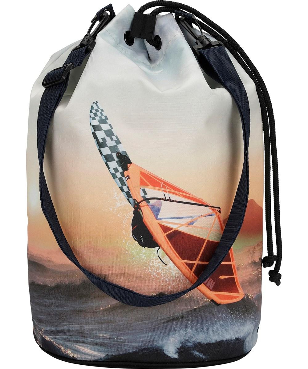 Nedo - Point Break - Beach bag with parrot print