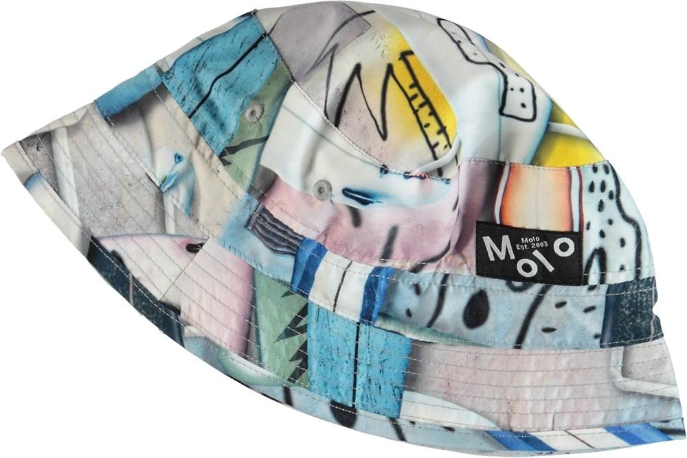 Niks - Summer Walls - Printed bucket hat.