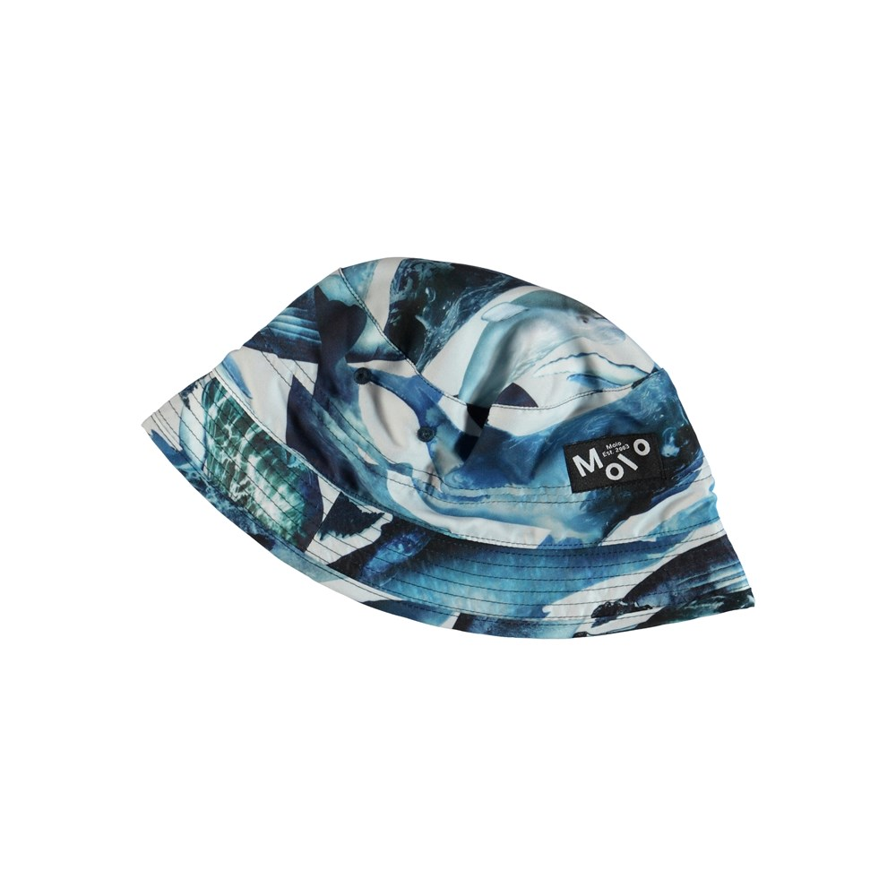Niks - Whales - Bucket hat with whales