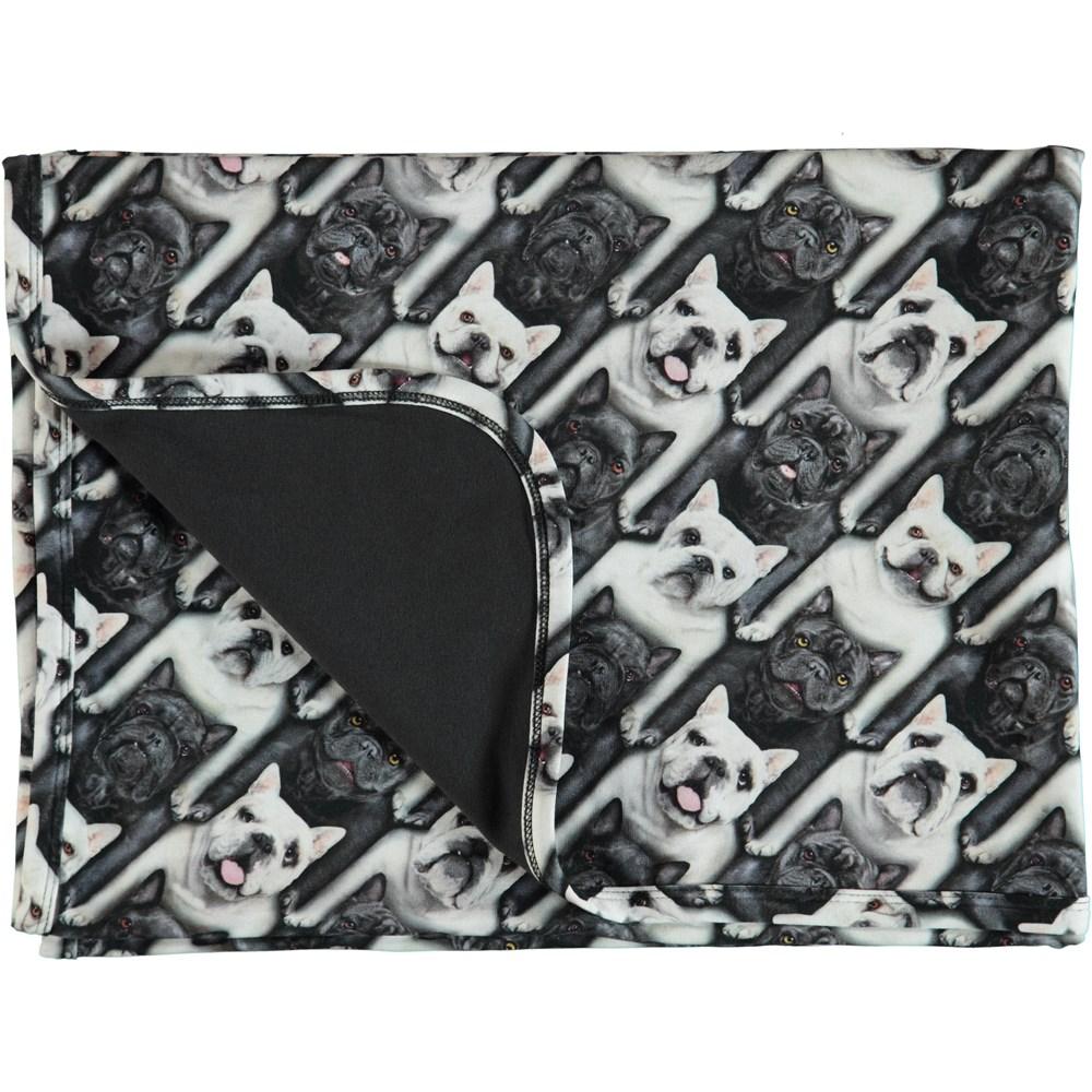 Niles - English Bulldog - Neala Blanket - English Bulldog