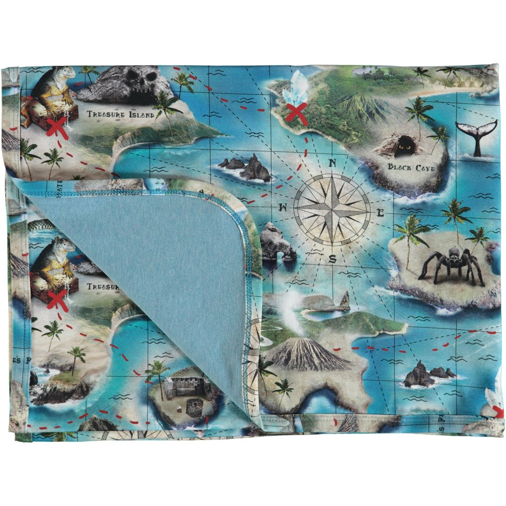 Niles - Treasure Map - Neala Blanket - S