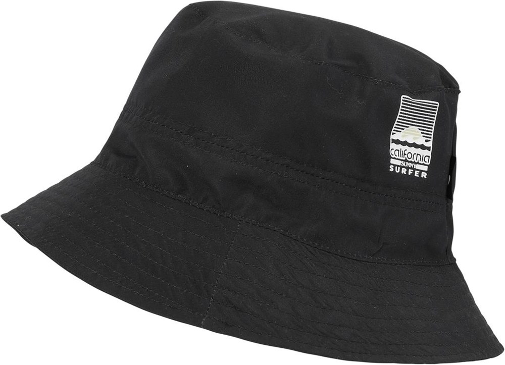 Savon - Black - Black bucket hat