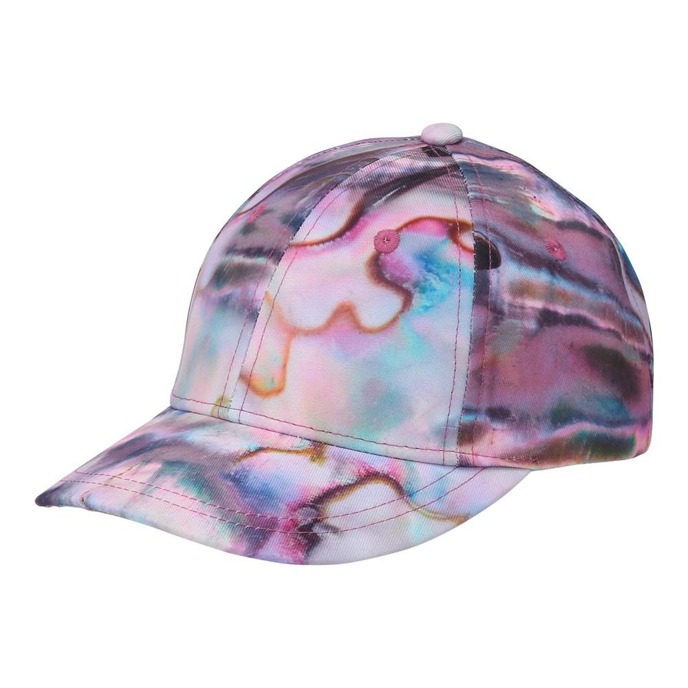 Sebastian - Shells - Pink and blue cap.