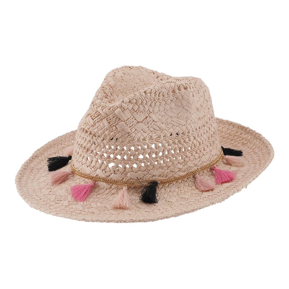 Summer Straw - Rose Sand - Straw hat