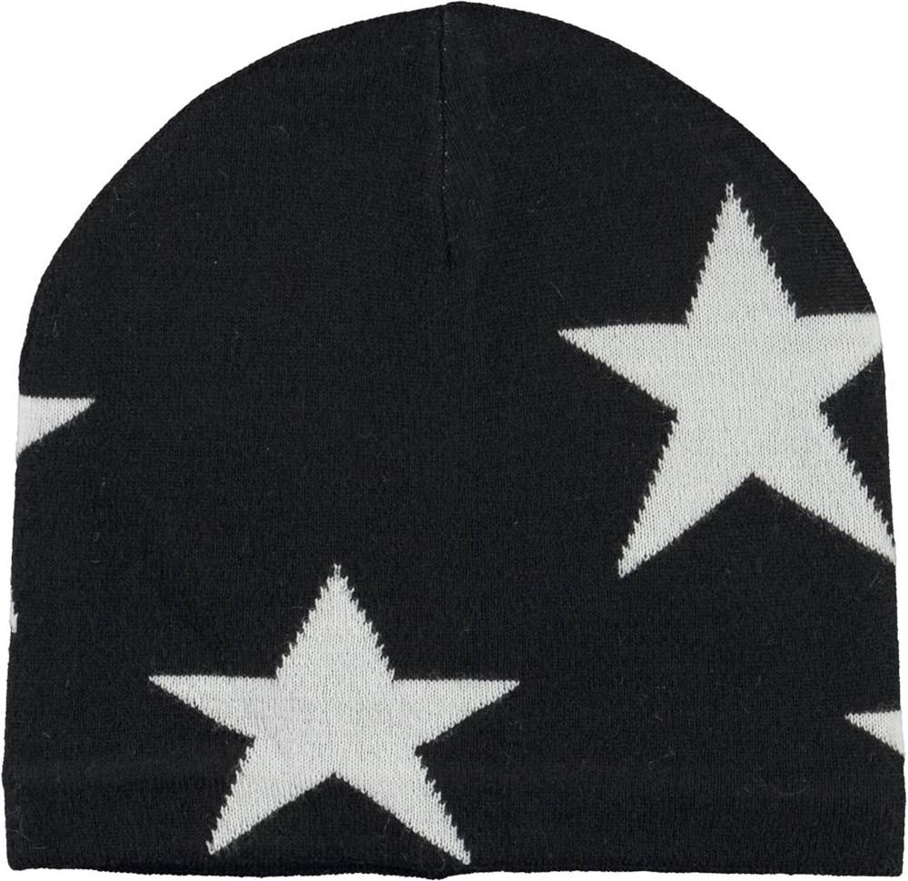 Colder - Black - Black hat with stars