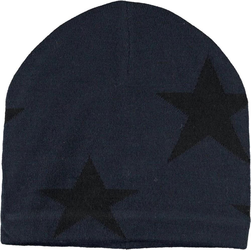 Colder - Carbon - Dark blue hat with stars