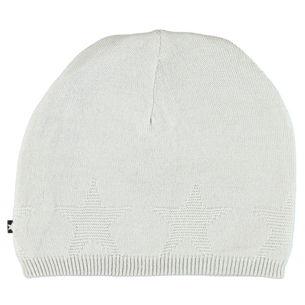 Colder - Dawn Silver - Light grey hat with stars