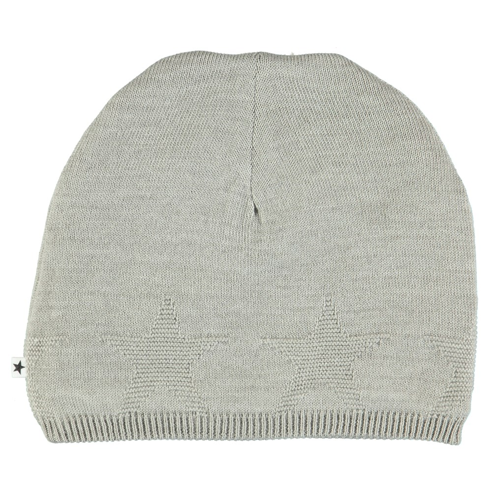 Colder - Grey Melange - Grey hat with stars