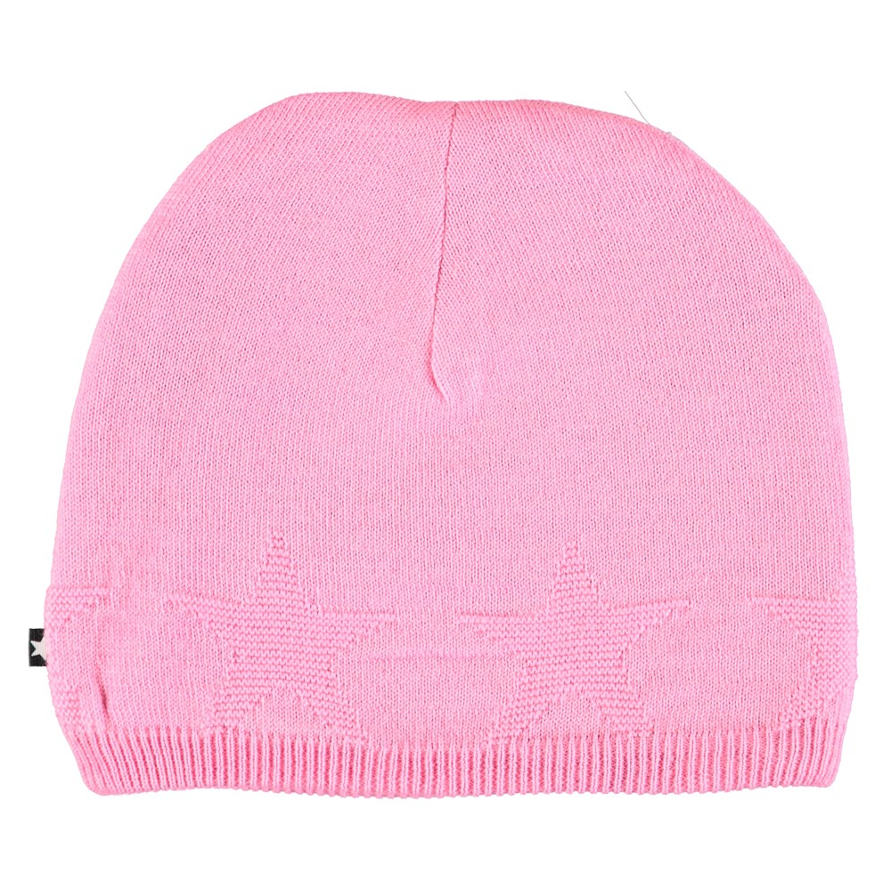Colder - Total Pink - Pink hat with stars