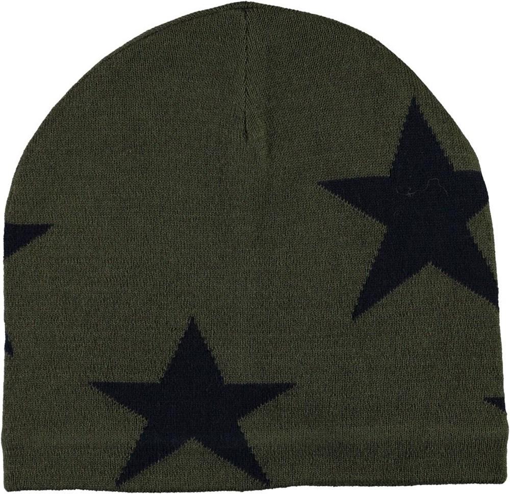 Colder - Vegetation - Green hat with stars