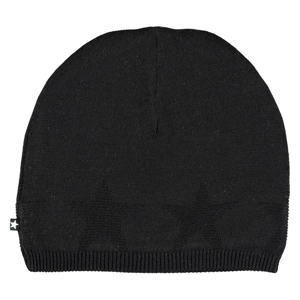Colder - Very Black - Black hat with stars