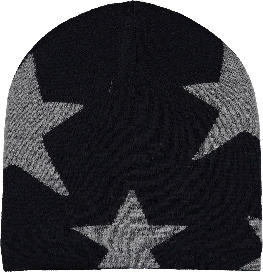 Colder - Carbon - Dark blue hat with stars.