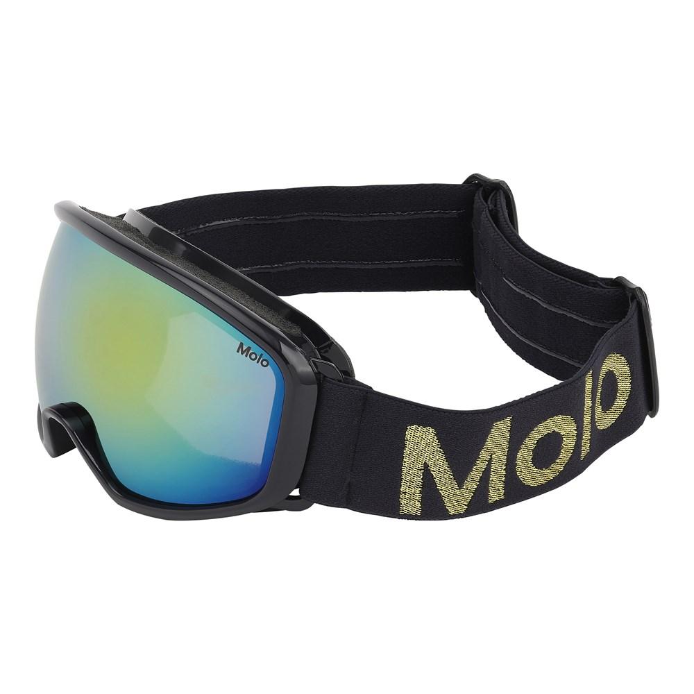 Frameless - Evening Blue - Dark blue ski goggles