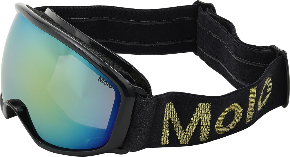 Frameless - Evening Blue - Dark blue ski goggles.
