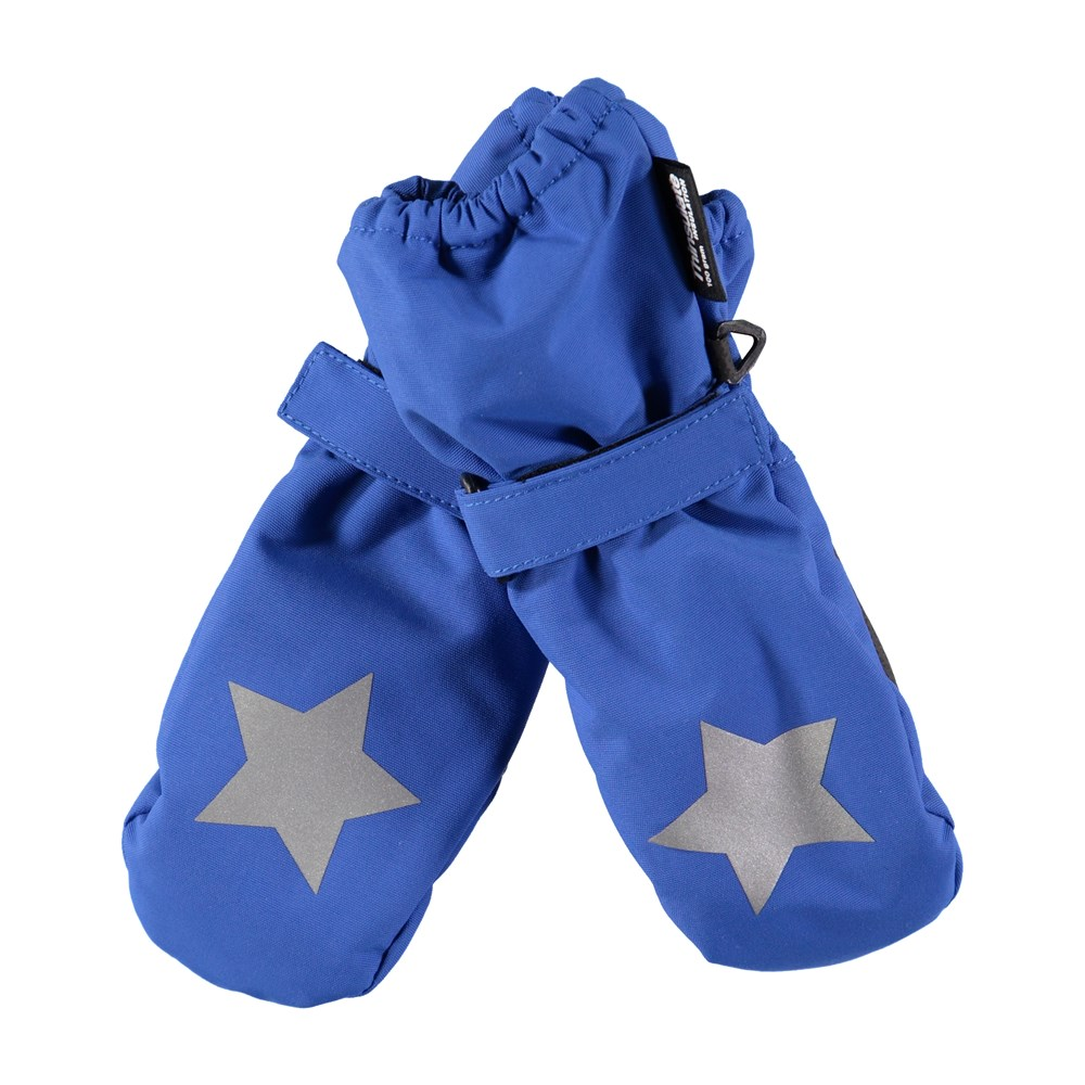 Igor - Real Blue - Waterproof, breathable blue mittens