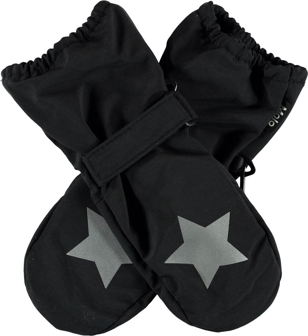 Igor Summer - Black - Thin black mittens