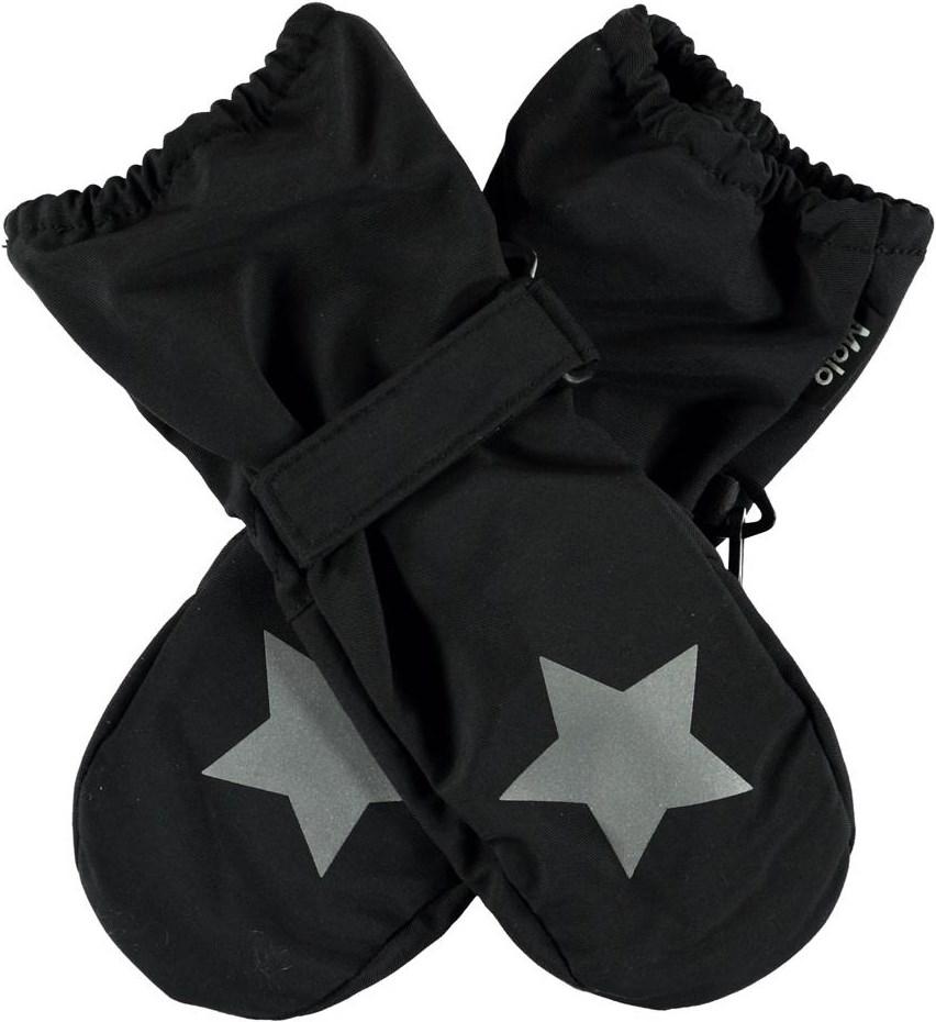Igor Summer - Black - Black summer mittens