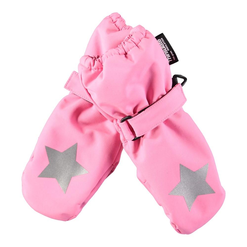 Igor - Total Pink - Waterproof, breathable pink mittens