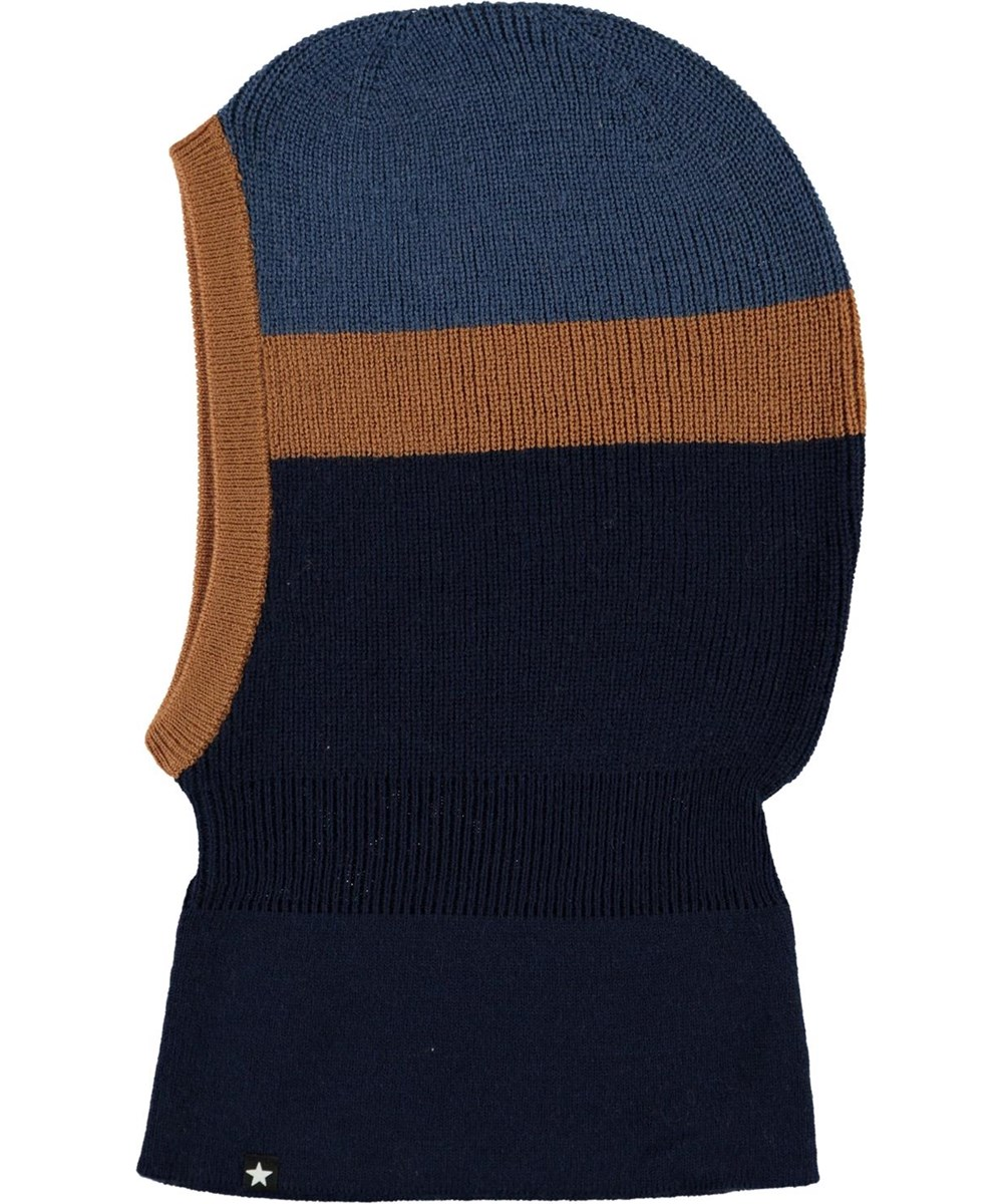 Kallan - Ink Blue - Easy Rib knit