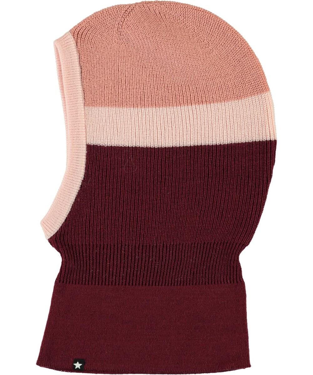 Kallan - Maroon - Easy Rib knit