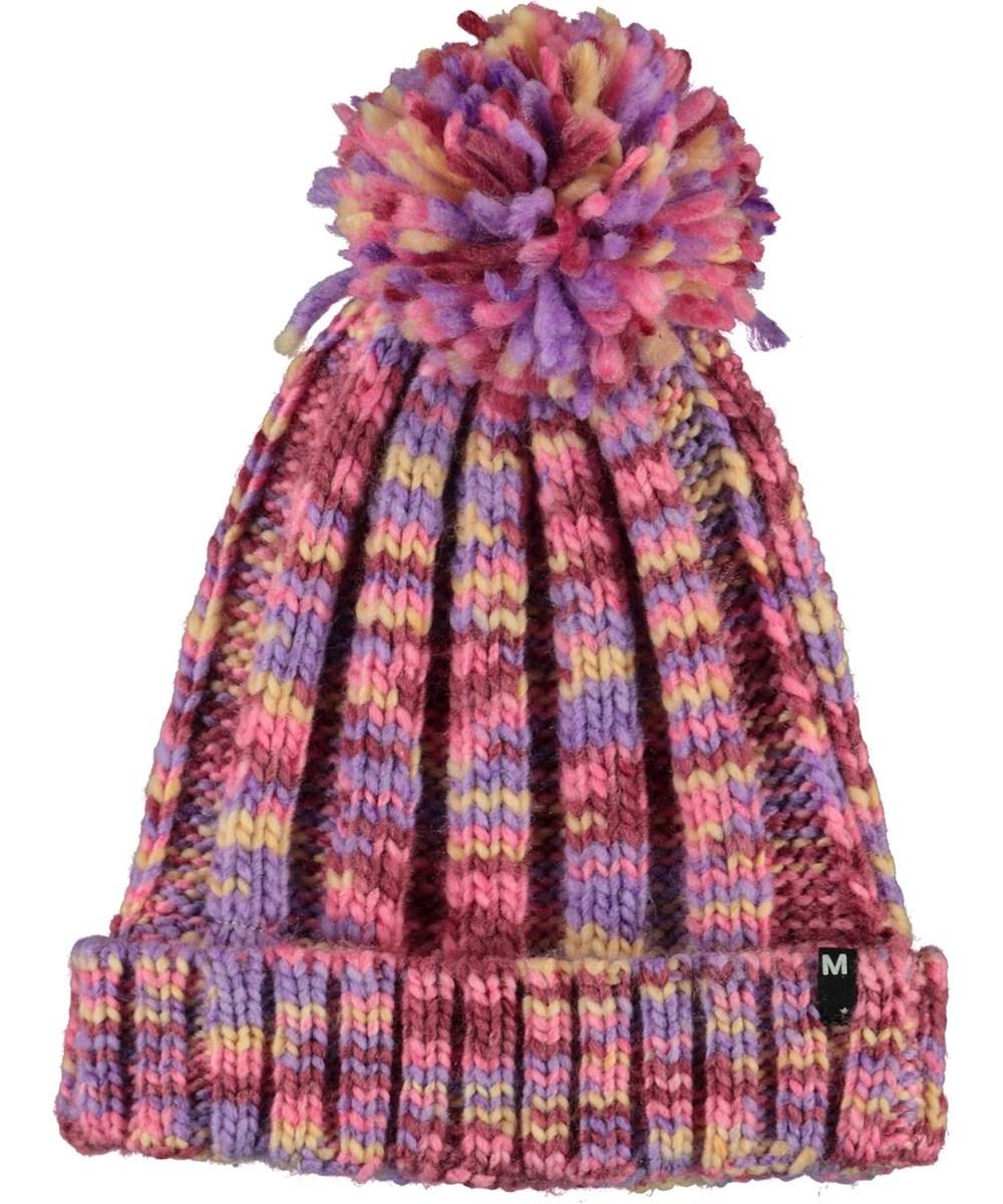 Kandis - Maroon - Chuncky Knit
