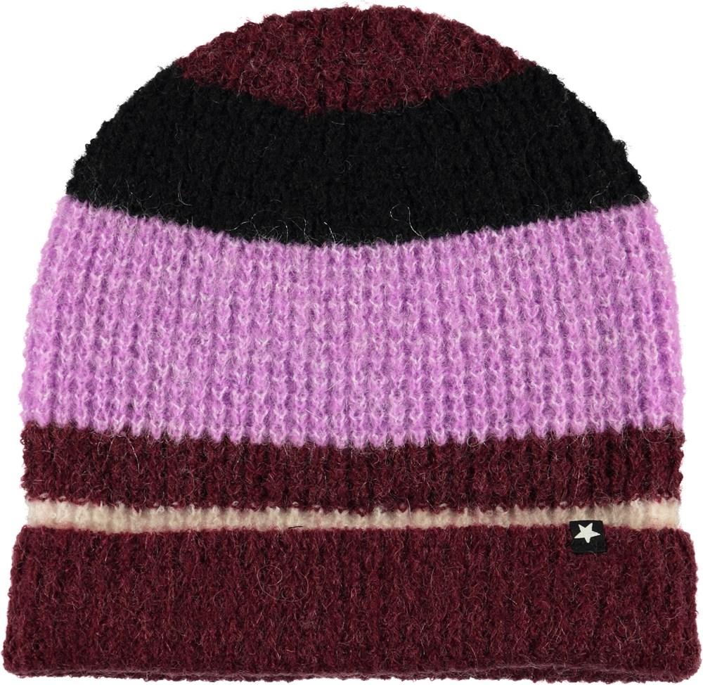 Kara - Multi Stripes - Hairy Knit