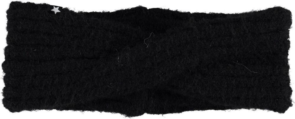Kassandra - Black - Black headband.
