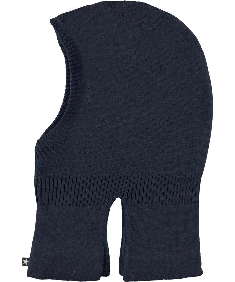 Kavi - Carbon - Dark blue knit ski mask