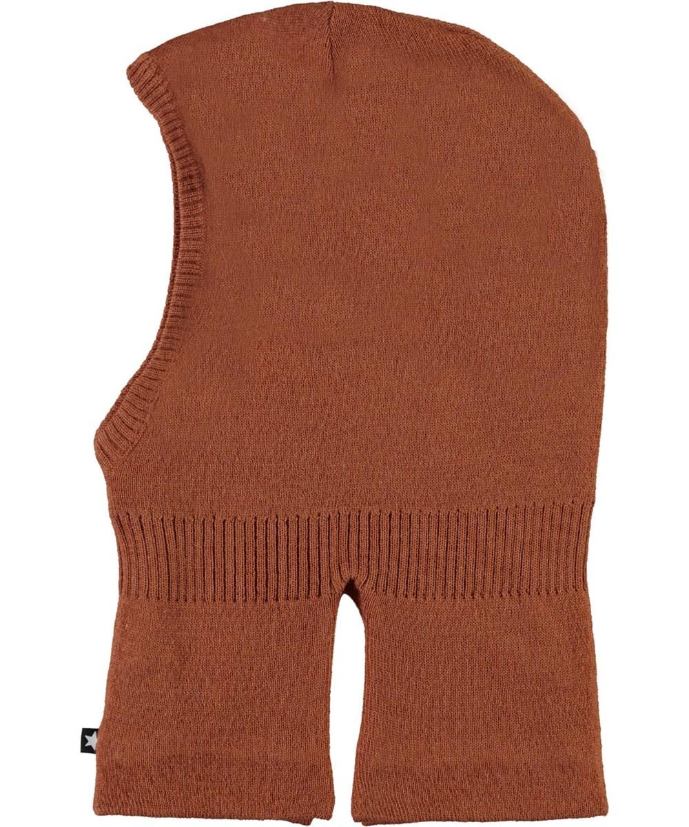 Kavi - Deer - Brown knit ski mask