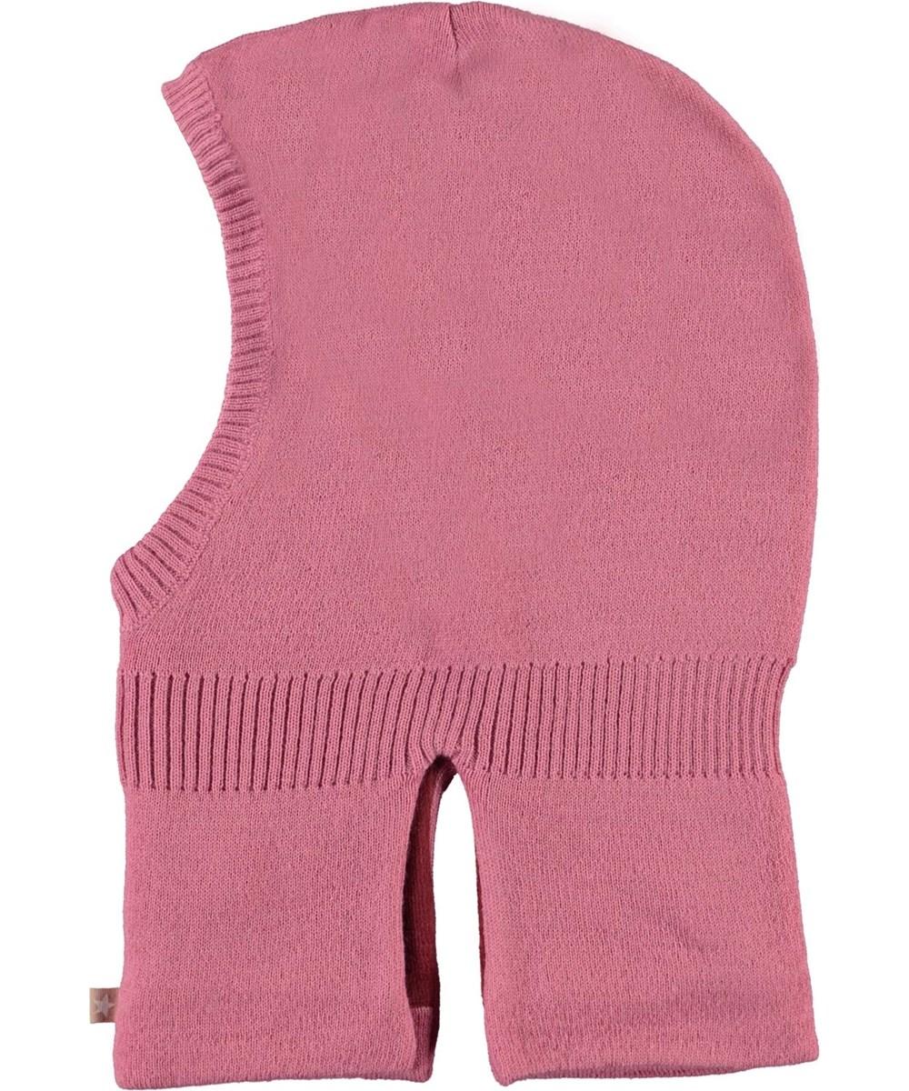 Kavi - Maple - Pink knit ski mask